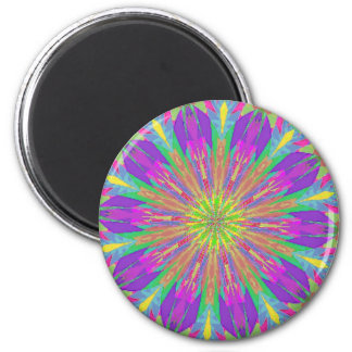 Psychedelic Tie Dye Magnet