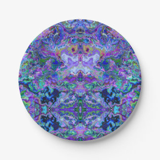 Psychedelic Tie-Dye Marble Purple Pattern Paper Plate  sc 1 st  Zazzle & Tie Dye Pattern Kitchen Accessories \u0026 Supplies | Zazzle