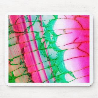 Psychedelic Tie Dye Quartz Mouse Pad