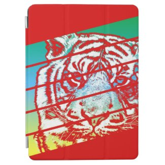 Psychedelic Tiger iPad Air Cover