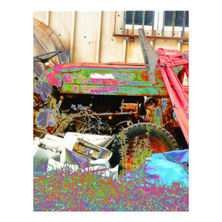 Psychedelic Tractor Letterhead