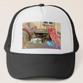 Psychedelic Tractor Trucker Hat