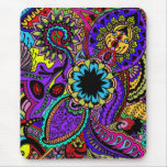 Psychedelic Treasure Map Mouse Pad