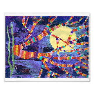 Psychedelic Tree 1 Print