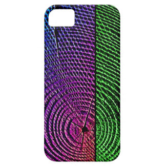 Psychedelic Tree Rings iPhone SE/5/5s Case