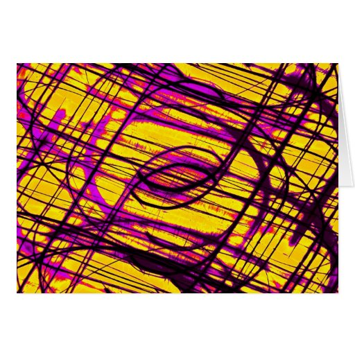 psychedelic trip greeting cards