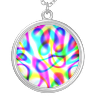 Psychedelic Trip Strings Custom Necklace
