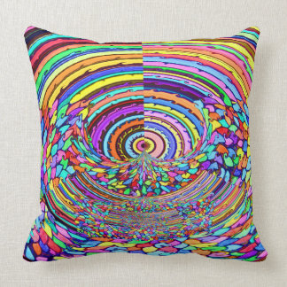 Psychedelic Trip Throw Pillow