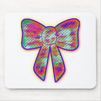 Psychedelic tripper Bow Mouse Pad
