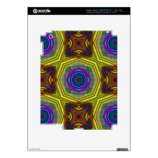 Psychedelic Trippy Abstract Decals For iPad 3