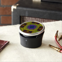 Psychedelic Trippy Abstract Speaker