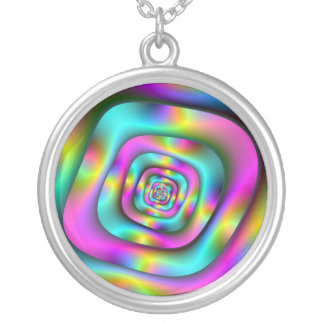 Psychedelic Tunnel Necklace