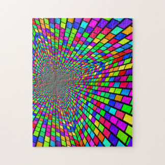 Psychedelic Tunnel of Blocks Puzzles