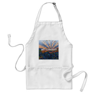 Psychedelic USA - Hollywood Sign A1 Apron