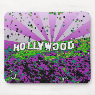Psychedelic USA - Hollywood Sign A2 Mousepad