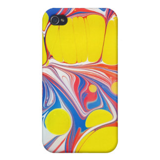 psychedelic V  Case For iPhone 4