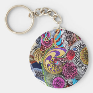 PSYCHEDELIC VARIANT KEYCHAINS