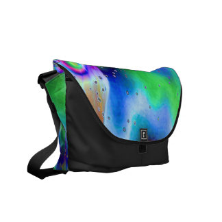 Psychedelic Vision Courier Bag