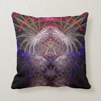 Psychedelic Visionary Chaos American MoJo Pillow