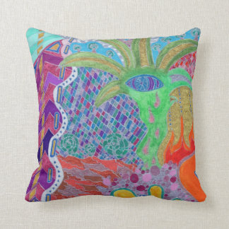 Psychedelic Visions Pillow