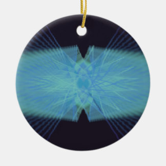 Psychedelic Visuals Christmas Ornament