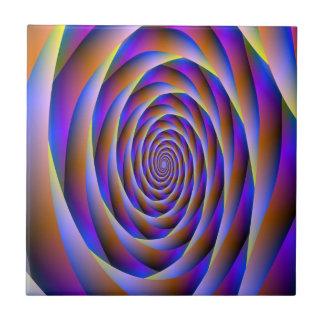 Psychedelic Vortex Fan tile