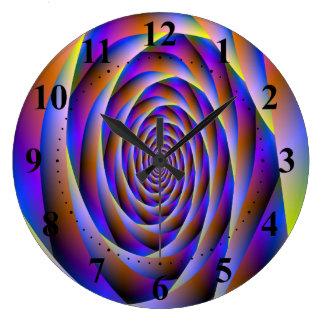 Psychedelic Vortex Wall Clock