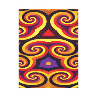 PSYCHEDELIC WALL ART Wrapped Canvas