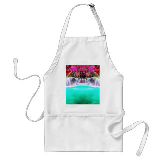 Psychedelic Waterfall Adult Apron