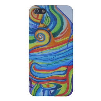 Psychedelic Waterfall iPhone SE/5/5s Case