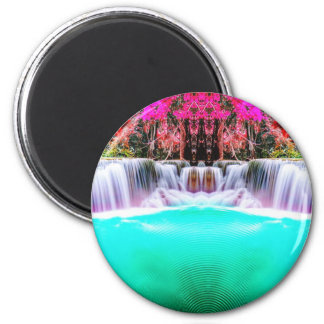 Psychedelic Waterfall Magnet