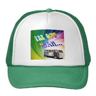 Psychedelic Wave Cap Trucker Hat