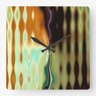 Psychedelic Wave Wall Clock