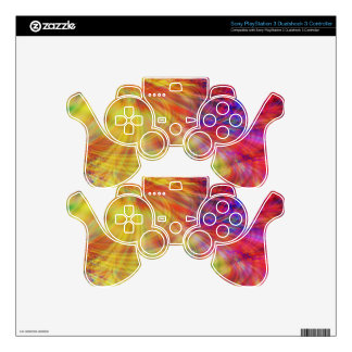 Psychedelic Waves: PS3 Controller Skin
