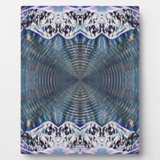 Psychedelic Winter Plaque