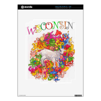 Psychedelic Wisconsin Goatling Skins For The iPad 2