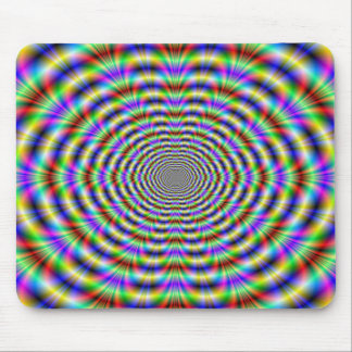 Psychedelic Worm Hole Mousepad