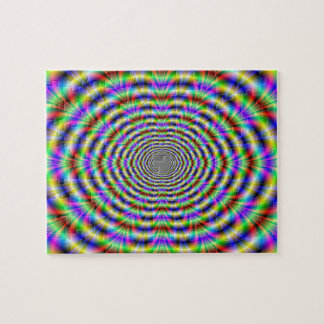 Psychedelic Worm Hole Puzzle