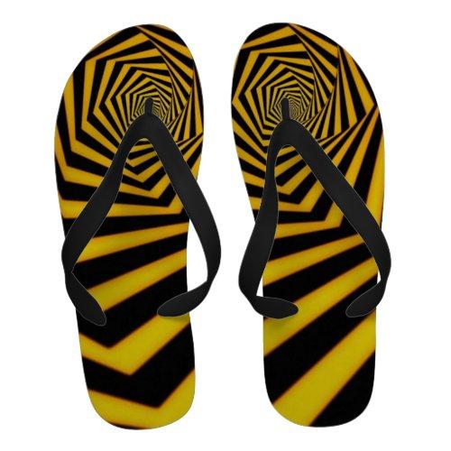 Psychedelic Wormhole Flip-Flops