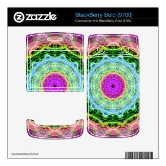 Psychedelic Wormhole kaleidoscope BlackBerry Bold 9700 Skin