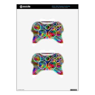 Psychedelic Xbox 360 Controller Skins