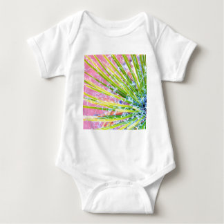 Psychedelic Yucca Baby Bodysuit