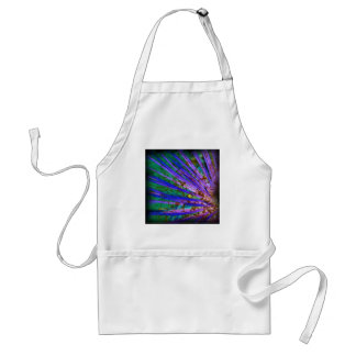 Psychedelic Yucca Inverted Adult Apron