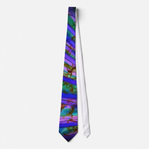 Psychedelic Yucca Inverted Tie tie