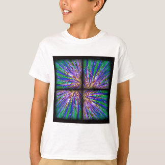 Psychedelic Yucca Quilt T-Shirt