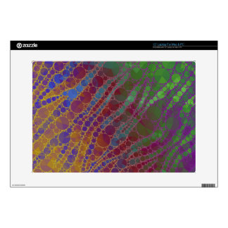Psychedelic Zebra Abstract Pattern Skin For Laptop