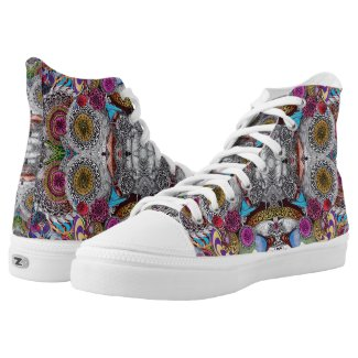 PSYCHEDELICA High-Top SNEAKERS