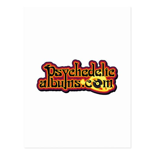 psychedelicalbums.com postcard