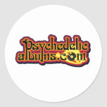 psychedelicalbums.com round stickers