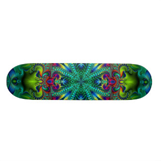 Psychedelicized Skateboard